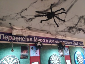 паук крупный