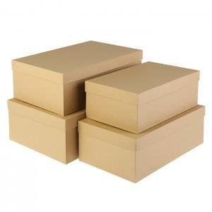 4 коробки
