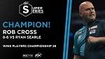 Роб Кросс свежеиспечённый чемпион Players Championship 26 / № 612