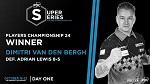 Димитри Ван Ден Берг забирает второй титул в этом году / № 610